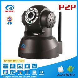 Cheap UPNP P2P connection IOS pan and tilt ip robot camera