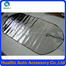 Retráctil recubierto de plata nieve coche coche cortina del aislamiento de calor