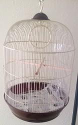 "New Round bird Cage for Parakeet, Love Birds, Finches small birds 13"" diameter x22""H"