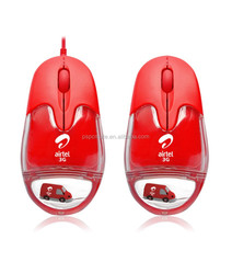Cheap wireless&wired liquid mouse as promotional gift
