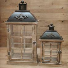 Wholesale Custom Color Classic Style Glass Kerosene Lamp Lantern