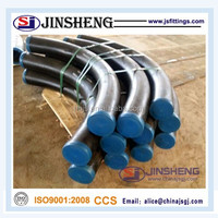 Asme b16.49 carbon steel 45 degree pipe bend for petroleum