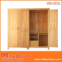 2015 customized solid wood multifunction wardrobe in dubai