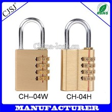 Factory Direct Top Quality Multi Sizes 4 Digit Lock 80mm Sliding Door Locks