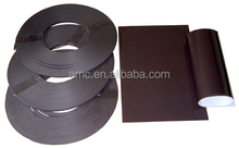 T shape unbreakable flexible rubber magnet strip made in china