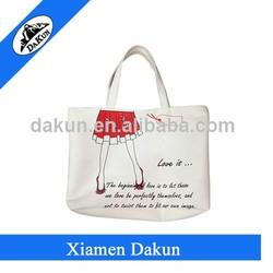 Various recyle cotton shopping bag