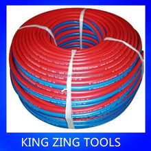 6mm oxygen/acetylene/electric bicycle/industrial/machinery twin welding rubber hose-