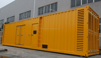 New 40ft containerized power box generator sets power by QSK38-G5 diesel engine
