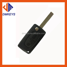 2 Buttons Remote Flip Folding Car Key Shell Replacement for VW Volkswagen Golf MK4 Bora Uncut Blade Keyless Car Key Case Cover