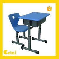2015 New design school student desk chair dimensions