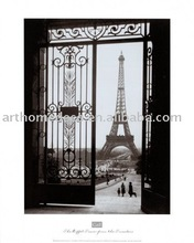 Famous building Stretched Canvas Painting