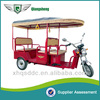 indian electric rickshaw with cloth fiber roof for sale