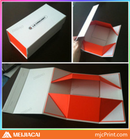 Fashionable patterns magnetic gift box design, luxury engagement paper gift box packaging box