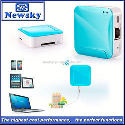 150Mbps gateway battery powered 3g wifi router with TF/SD card slot