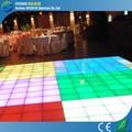 Decoração do partido estilo iluminado pista de dança