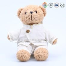 Soft plush nurse teddy bear toy for sale