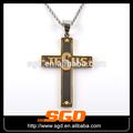 cruz de ouro pingente jesus