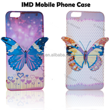 2015 IMD 3D butterfly phone cover case for mobile phone case, cell phone case, for iphone case