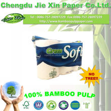 bamboo toilet paper roll 3ply 6roll packing