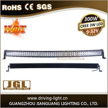 High performance 120w/180w/240w/288w/300w 4x4 off road led light bar curved led light bar with ip68 CE ROHS