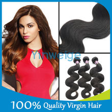 Unprocessed Brazilian Virgin Hair Body Wave Grade 5A 100% Human Hair Weft Shipping Free