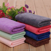 custom made OEM microfiber logo printed plain dyed cheap wholesale bar towel for sale