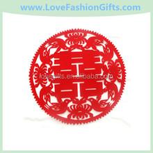 Wedding Felt Decorative Supplies Wedding Yuanyang Double Happiness