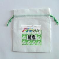 FH Cute Advertising Non Woven Small Drawstring Bag
