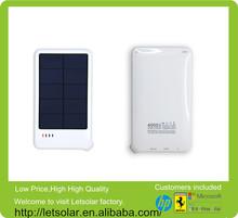 portátil inteligente chargersolar banco de alimentación cargador de batería para todos los teléfonos inteligentes