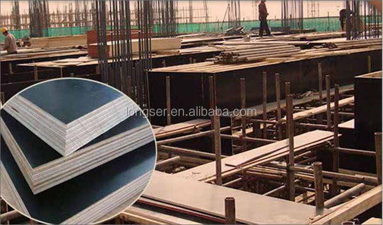 Peuplier noyau wbp 18mm construction film face contreplaqu 13 plis bois lamell id de produit - Contreplaque marine 18mm ...