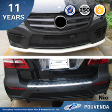 Front and rear bumper/ body kit For Mercedes ML350 2012 W166 Body Kit (AMG type) auto parts from Pouvenda