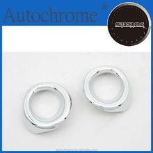 Chrome trim strips, car accessory chrome rear fog light trim for Toyota Highlander 08-10