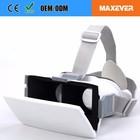 Oem plástico personalizado óculos de vídeo 3D realidade Virtual