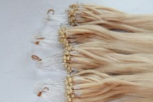 100% Unprocessed Cheap Price 100% Full Cuticle 30 Inch Malaysian Micro Bead Human Hair Extensions