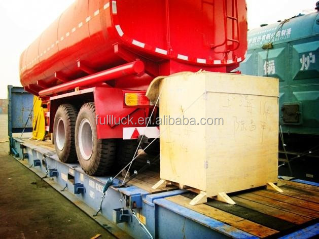 Sinotruk prime mover and semi-trailer packaged transportation 4