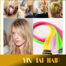 Hot Selling!!! Sparking Hair Clip Hair Extension, Long Bling Fashion Clip Hair Extension Making You a New Looking