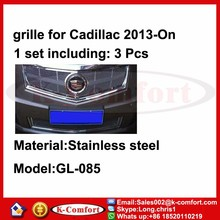 KCOMFORT Steel car auto parts and accessory front grille for Cadillac 2013-On