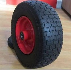 Trolley wheel pneumatic tire chile model wheelbarrow wheel