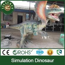 Lisaurus-J Trade Assurance high quality art fiberglass dinosaur