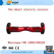 Self balancing electric scooter 2 wheel electric standing scooter from factory