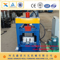 xinnuo roll forming machine water gutter tile forming machine botou factory made in china