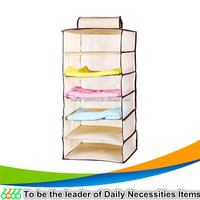 Organizer factory wholesales fashion design foldable storage box/zipper jewelry hanging organi/plastic holder crystal organizer