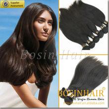 No derramar& libre de enredos 2015 de moda del pelo humano indio traight