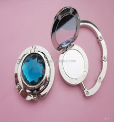 2015 custom stainless steel purse hanger mirror