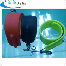 Silicone write and touch screen pen/mobile phone writing pen in snap bands
