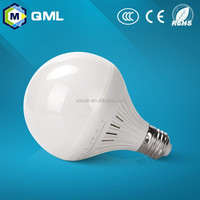 Factory price 7w led bulb plastic housing e27/b22 with CE ROHS