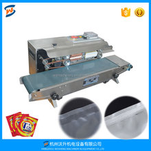 WS FR-900 continuous band sealer machine, band sealing machine, plastic film sealer