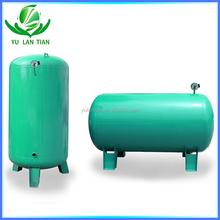 Small footprint horizontal water pressure vessel