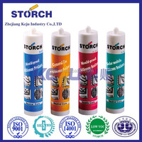Sealing air ducts and water pipes acetic mould-proof silicone sealant