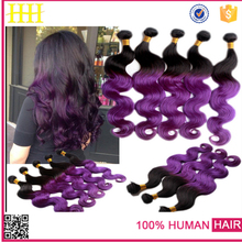 Golden supplier top quality no chemical colored brazilian hair weave extension fashion hair product